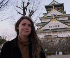 Emily Wilson in Japan - photo by Mary Liu