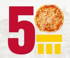 Rome 50 pizza