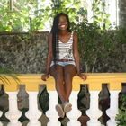 Brea Govan at her home (Casa Vera) in the neighborhood Vedado of Habana, Cuba.