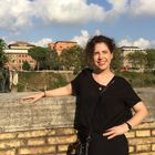 Caitlin Sullivan, photo taken across from Temple Rome on the Tiber River