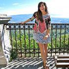 Caroline Lebranti, student blogger in Rome