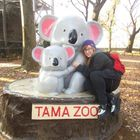 Florin Evanko at the Tama Zoo