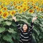 Elle Chu-Kiyose Sunflower Festival