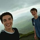 This photo was taken atop a mountain near Loch Lomand, Scotland. I took a brief trip there to visit a friend (LEFT) I met in Hamburg while on exchange. We quickly fled down the mountain despite a 4 hour hike due to heavy rainstorms.