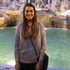 Melinda Schiano di Cola at the Trevi Fountain in Rome
