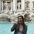 Samantha Porter Trevi Fountain