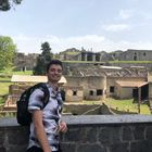 Visiting the ruins of Pompeii on a weekend trip