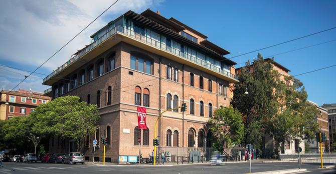 Temple Rome campus 2017