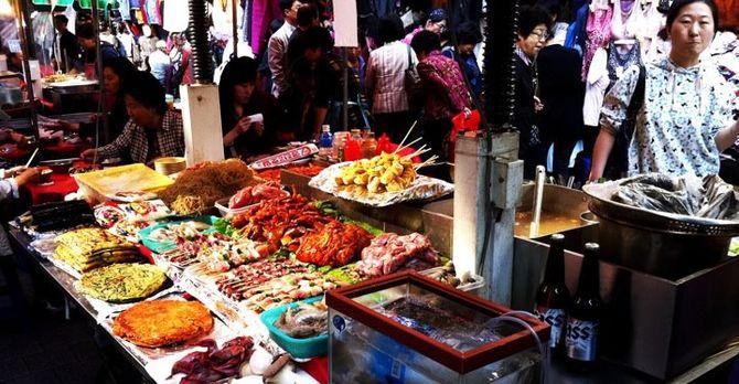 Food at namdaemun