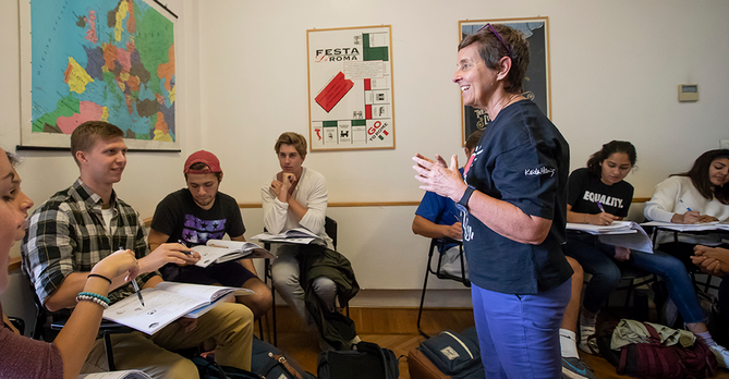 Italian Class Fall 2018 Betsy Manning