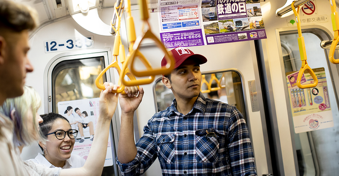 Students on subway - Ryan Brandenberg