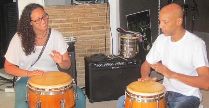 Brazil percussionist