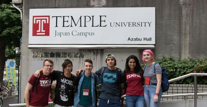 Students at TUJ