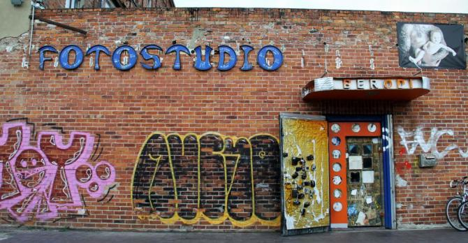 Fotostudio and graffiti in Germany