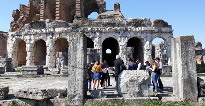 Rome SP 19 Miturnae, Cuma, Boscoreale, Pompeii field trip