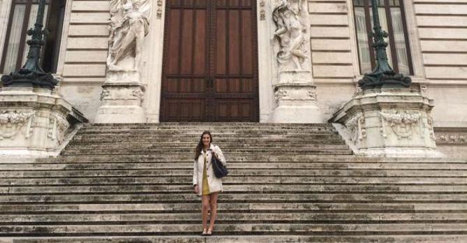 Gina Ranieri, Italian Parliament intern, Fall 2014