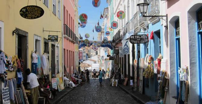 Streets in Brazil