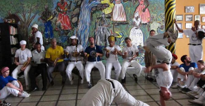 Dancers in Brazil
