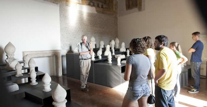 Jan Gadeyne teaching on site