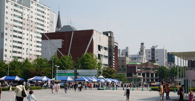 Ewha front gate