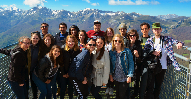 Students picos mountains SP17 Danielle Nanni