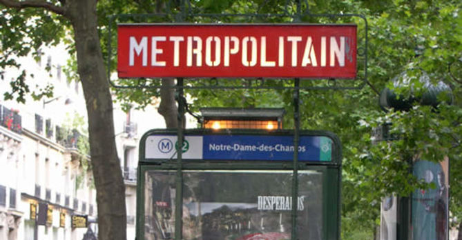 The subway in Paris