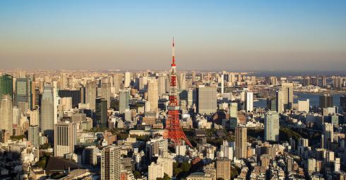 Tokyo skyline - Ryan Brandenberg