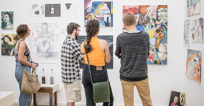 Spring 2018 exhibit
