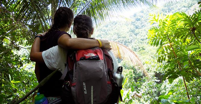 Jamaica SU10 Students in Jungle Keelin Hood