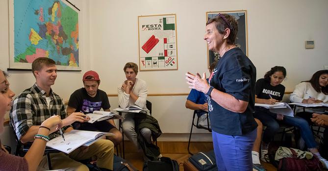Italian Language Class Betsy Manning