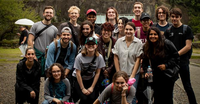 Students on field trip - Ryan Brandenberg