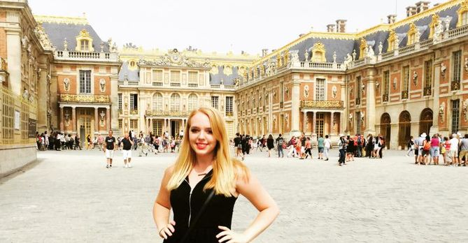 Casey Wright at Versailles