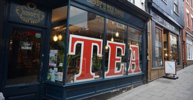 Tea -- the quintessential English beverage!