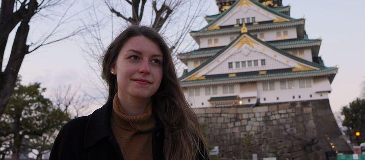 Emily Wilson in Japan