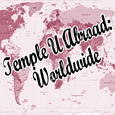 Temple University Abroad Worldwide map icon